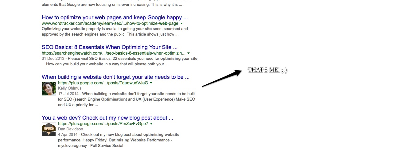 Website Optimisation SERP