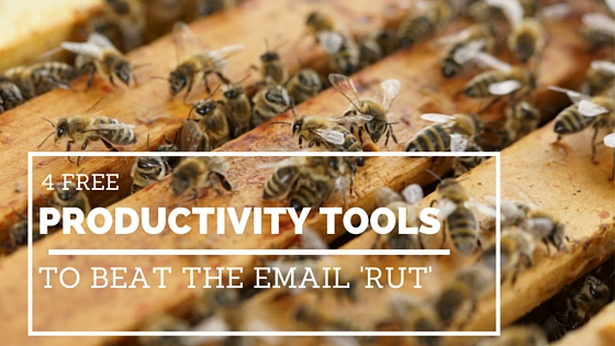 4 free productivity tools to beat the email 'rut'!