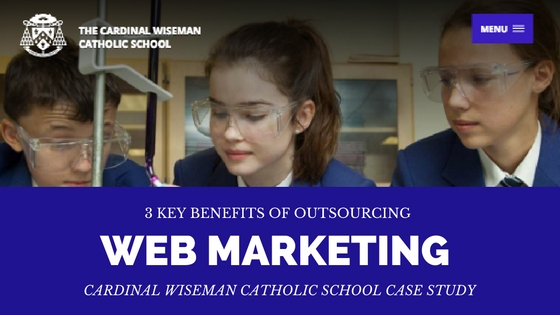 3 key benefits of outsourcing a web marketing project